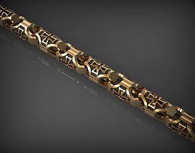 Chain link 127 3D print model