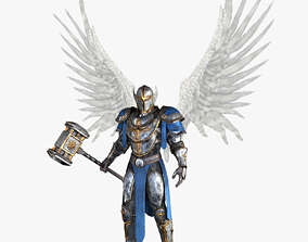 3D asset Angel Knight by Fear1ess