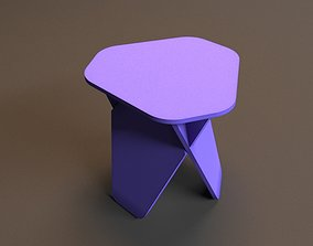furniture chair 3D printable model
