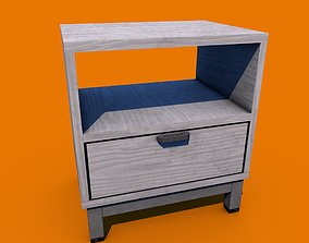 Copenhagen nightstand 3D asset