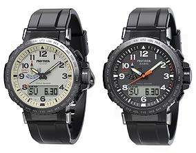 3D Casio Sport Watch