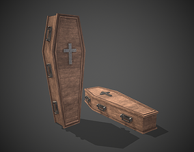 3D asset realtime Coffin