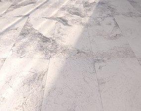 Marble Floor Bizantino Bianco Set 2 3D model