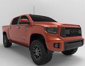 3D model 2018 Toyota Tundra TRD PRO Edition