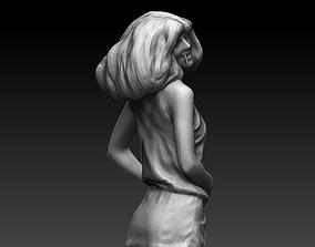 3D printable model beautiful hot girl