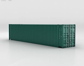 Shipping Container 45 HC 3D