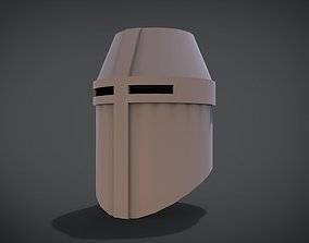 3D printable model Iron helmet v1