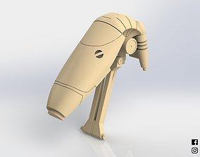 B1 Battle Droid Head Star Wars 3D printable model