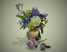 3D model PBR Bouquet Flowers
