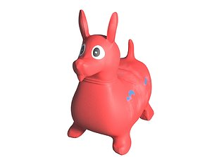 Jumping toy for kids 3D