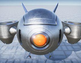 3D model Reconnaissance Drone