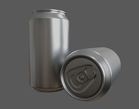 Aluminum Soda Can 3D model PBR