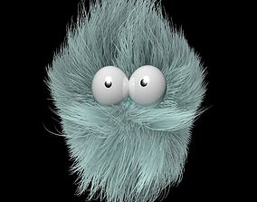 3D Fluffy Character