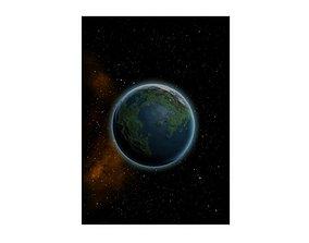 Intrepid planets 3D model