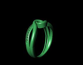 3D print model style Woman Ring