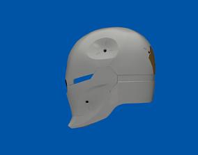 Gray Fox helmet Cyborg Ninja Motorized 3D print model