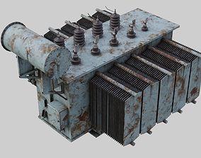 Electrical Transformer 2B 3D model