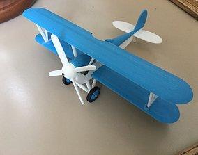 Modular Toy Biplane 3D print model