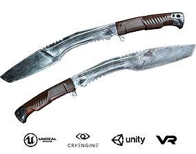 Knife Kukri 3D model