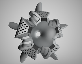Lotus Flower Ornament 3D printable model