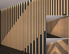 3D model Wall Panel Set 20