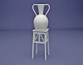 3D printable model ancient Egyptian pot