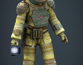 Alien Kane Spacesuit 3D asset