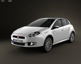 3D model Fiat Bravo 2011