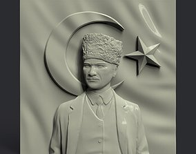leader Mustafa Kemal Ataturk 3D printable model