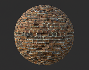 3D Brick Wall 002 Tileable Material