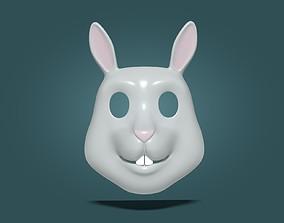Rabbit Bunny Kids Mask 3D asset