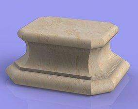 Marble Socle 01 3D printable model
