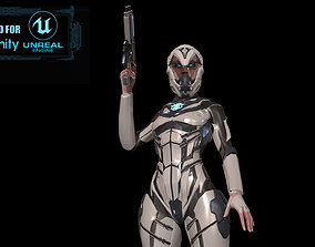Cosmogirl2 3D model