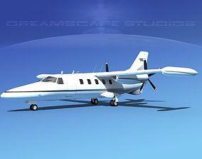 Dreamscape AF-44 Star Executive V08 3D model