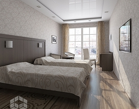 Hotel room 1 3D