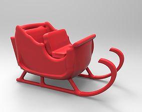 3D print model christmas sleigh