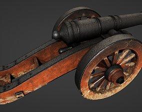 Cannon - PBR 3D asset