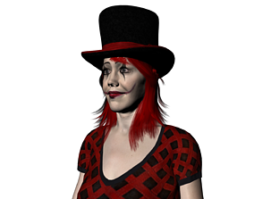 Jester Miranda 3D asset