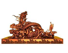 Dragon interior 3D print model