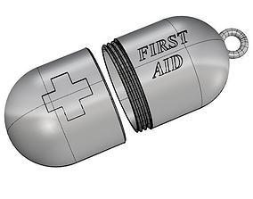 Storage Pill Pendant 3D printable model