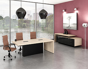 meeting 3D office interior
