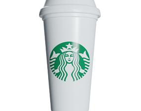 3D model Starbucks Coffee Cup