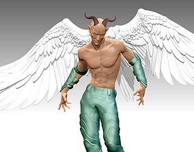 DEMONS Man Wings N 0012 sculpture 3D print 3D
