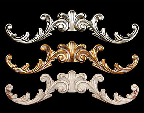 Classic carved 093 3D model