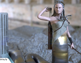 Medusa Amiibo 3D printable model