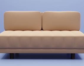 3D model Sofa for archviz