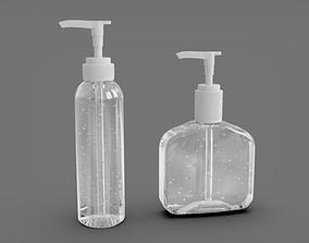 3D model Alcohol Gel - Hand Sanitizer Dispensers