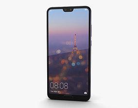 3D smartphone Huawei P20 Twilight