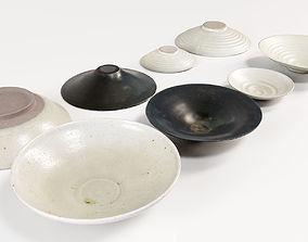 Japanese Tableware Set 3 3D model