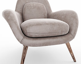 furniture 3D model LOUNGE CHAIR